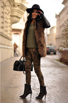 Camo, fur, and studs