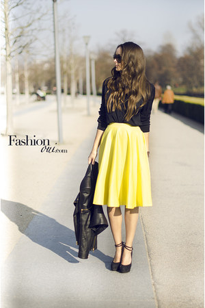 asos skirt - lanvin sunglasses - Esprit blouse