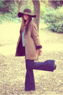 Vintage-coat-zara-jeans