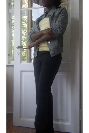 Gap pants - H&M vest - jacket