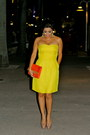 Rebecca-taylor-dress-h-m-bag-christian-louboutin-heels