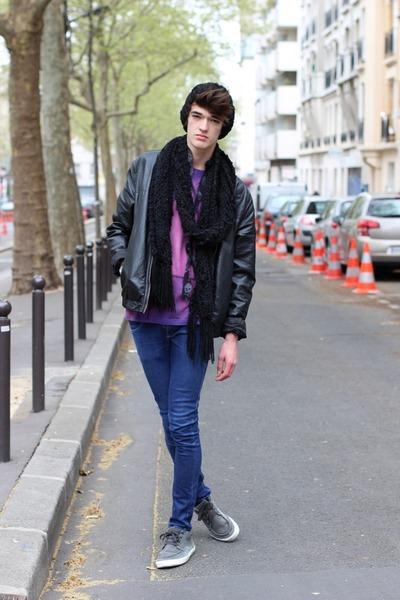 Uniqlo shirt - H&M jacket - Cheap Monday pants