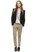 black Forever 21 jacket - black Forever 21 shoes - white Forever 21 shirt