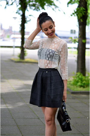 Rinascimento skirt - Paris2day heels - set top