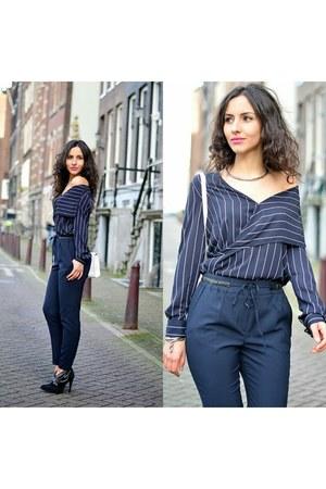 Mango blouse - Zara pants