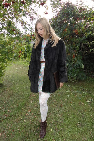 My Own tights - Fox Vintage SOLD shoes - Fox Vintage dress