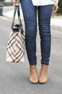 Tan-knit-casablanca-sweater-navy-moto-joes-jeans-jeans