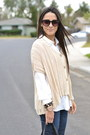 Tan-knit-casablanca-sweater-navy-moto-joes-jeans-jeans