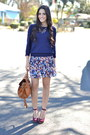 Navy-simple-forever-21-sweater-tawny-crossbody-poppy-jones-bag