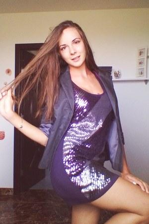 Motivi dress - H&M jacket