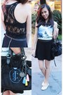 Black-juicy-couture-bag-black-forever-21-skirt