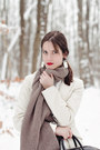Heather-gray-zara-scarf-white-sinéquanone-coat-navy-henrik-vibskov-tights