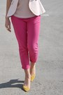 Hot-pink-zara-jeans-light-pink-zara-blazer-yellow-clutch-h-m-bag-yellow-za