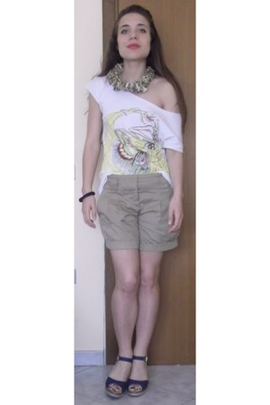 Collane Lianas necklace - Promod shorts - Zara t-shirt - sandals