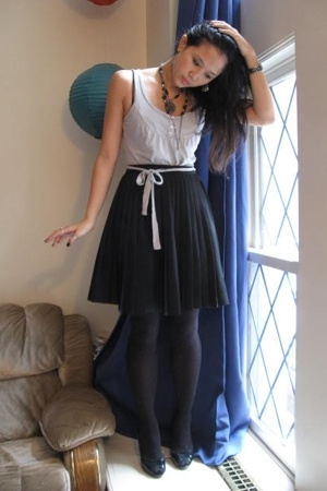 Full Pleated Skirt