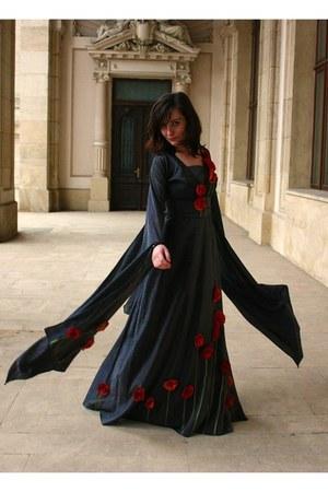 heather gray Cernei dress