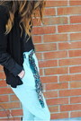 Aquamarine-american-apparel-pants-black-joe-fresh-style-cardigan-black-h-m-h
