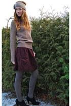 Forever 21 sweater - Forever 21 skirt - Forever 21 accessories - Forever 21 tigh
