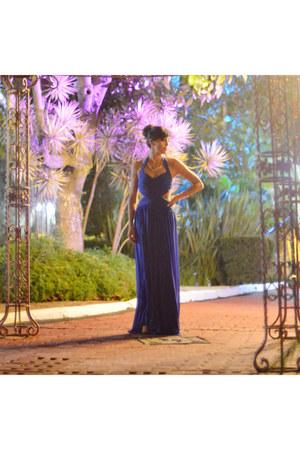 blue Prét à Porter dress