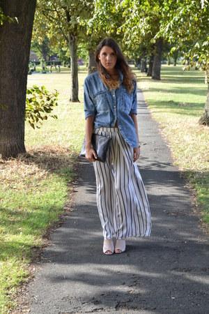 Missguided shirt - H&M pants - Topshop heels