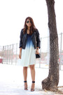 White-ombre-lulus-dress-black-h-m-jacket-black-persunmall-bag