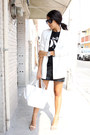 White-pull-bear-blazer-white-zara-bag-black-pull-bear-t-shirt