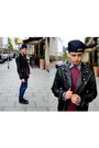 Leather-zara-youth-jacket-bordeux-h-m-sweater