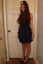 Ebay hat - James Perese top - American Apparel skirt - H&M shoes