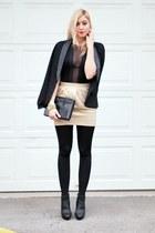 black She Likes bodysuit