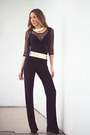 Black-haute-rebellious-jumper-gold-haute-rebellious-belt