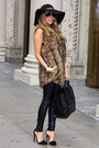 Light-brown-haute-rebellious-vest-black-haute-rebellious-leggings