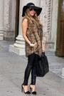 Light-brown-haute-rebellious-vest-black-haute-rebellious-leggings