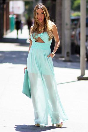 HAUTE & REBELLIOUS necklace - HAUTE & REBELLIOUS bag - HAUTE & REBELLIOUS heels