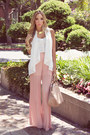 Pink-haute-rebellious-cardigan-peach-haute-rebellious-bag