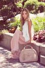 Pink-haute-rebellious-cardigan-peach-haute-rebellious-bag