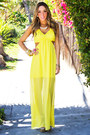 Yellow-cutout-haute-rebellious-dress