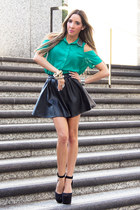 black HAUTE & REBELLIOUS skirt - black HAUTE & REBELLIOUS shoes