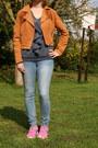 Light-blue-skinny-jeans-h-m-jeans-bronze-cowboy-jacket-h-m-jacket
