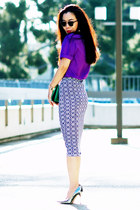 asos skirt - Jimmy Choo heels