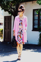 DIY skirt - Miu Miu shoes - Prada sunglasses - DIY top
