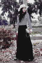 Stripe Tee & Maxi Skirt