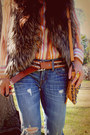 Work-custom-jeans-jeans-boutique-store-bag-vintage-blouse-faux-fur-urban-o