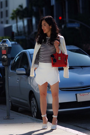 Zara skirt - Alexander Wang shoes - 31 Phillip Lim bag