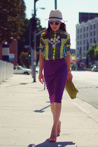 Colored Pencil skirt