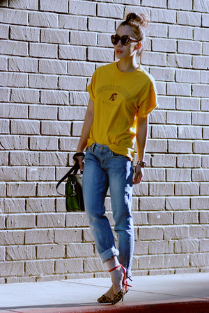 JCrew jeans - Zara sandals