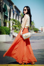 Vintage-bag-zara-sunglasses-vintage-top-carrot-orange-pleated-maxi-asos-sk