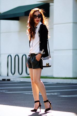 shoemint shoes - Mango sweater - Zara shorts