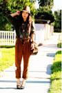 Zara-pants-sweater-dolce-vita-shoes-nine-west-hat