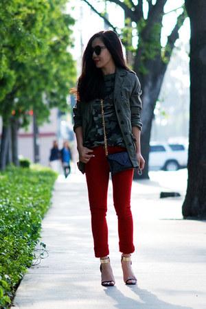 Zara coat - River Island jeans