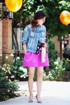 Esprit jacket - Zara heels - Forever21 skirt